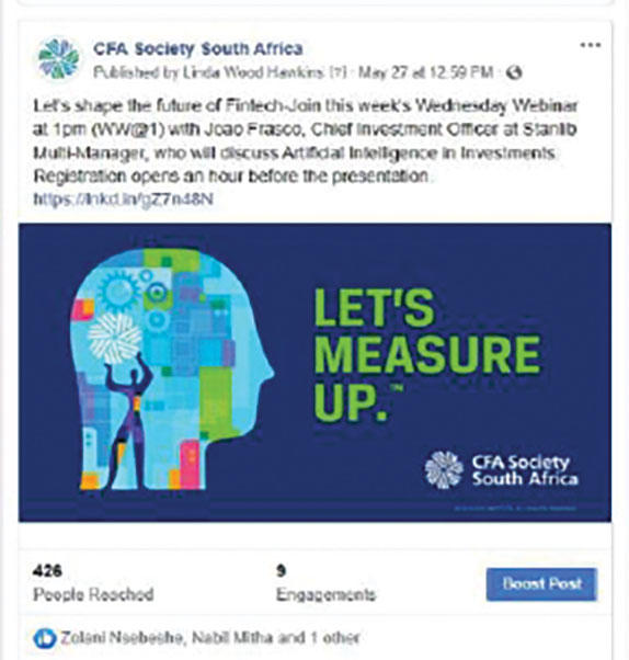 CFA Society CFA Society <strong>South Africa</strong> - Slide 3